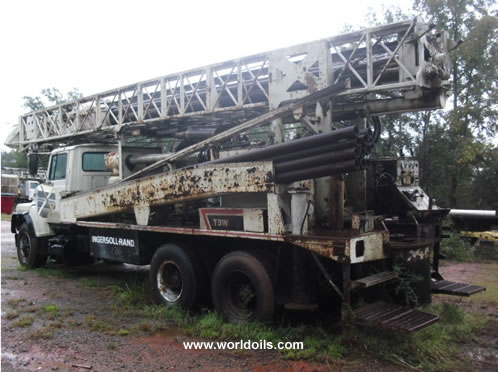 1987 Built Used Ingersoll-Rand T3W Drilling Rig