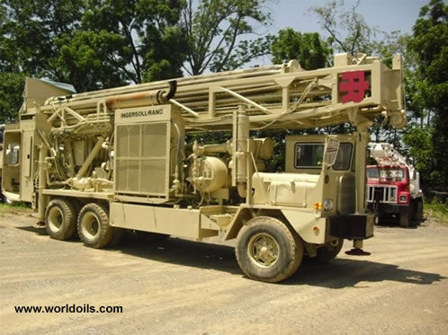 1988 Ingersoll-Rand T4 BH Drilling Rig for Sale
