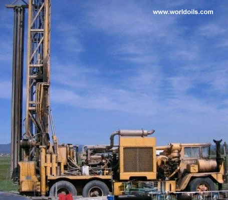 Ingersoll-Rand T4W Drill Rig built 1973 for sale