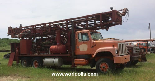 Ingersoll-Rand T4W Drill Rig - 1985 Built For Sale