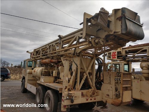 Ingersoll-Rand T4W Drilling Rig - 1998 Built for Sale