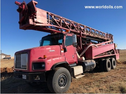 Ingersoll-Rand TH75W Drill Rig - For Sale