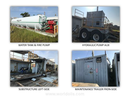 Used Land Drilling Rig for Sale in Mexico