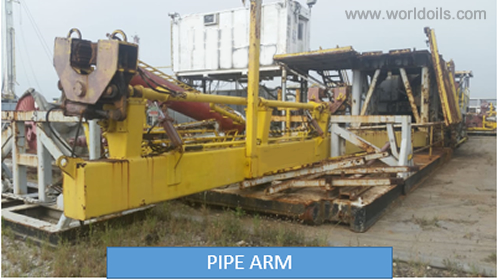 Used Land Drilling Rig - Trailer Mounted