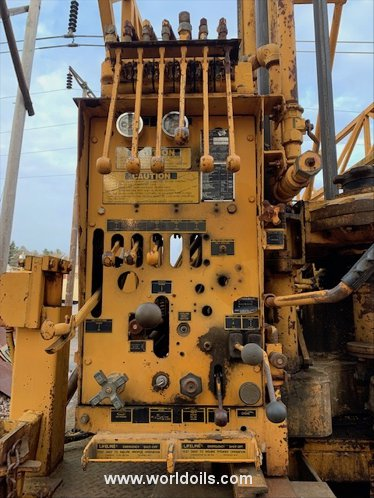 Mobile B61 Drilling Rig - 1989 Built for Sale