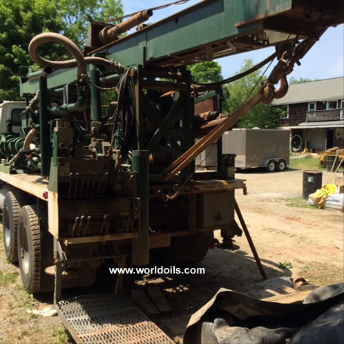 1991 Built Mobile B80 Drill Rig