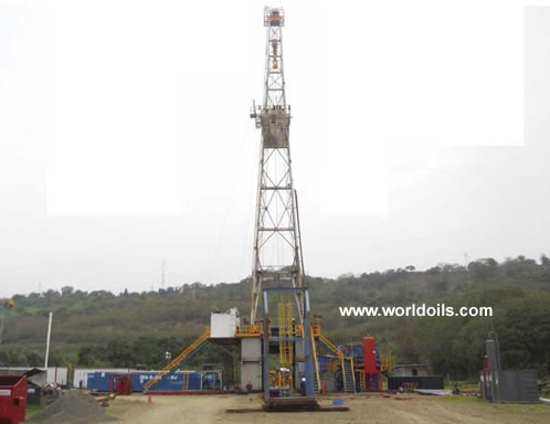 National 55 800 HP Mechanical Drill Rig