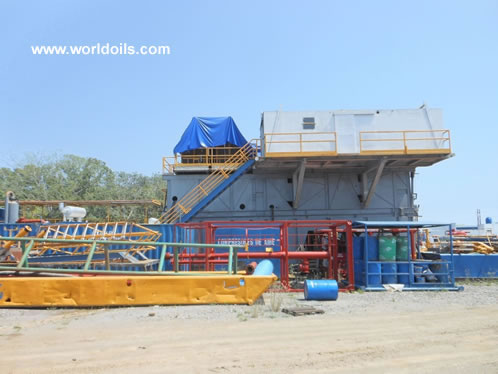 800 HP Mechanical Drill Rig for Sale
