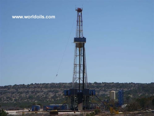 National with Top Drive Drilling Rig for Sale