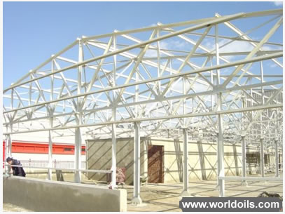 Quick Building Steel Construction