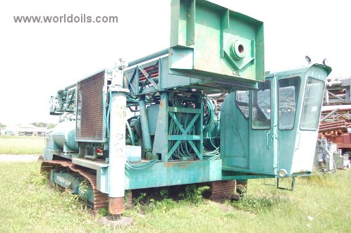 Reichdrill C-700 Crawler Used Drilling Rig for Sale