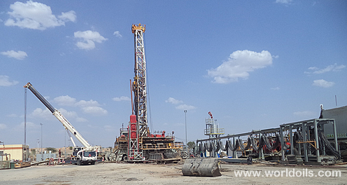 Trailer Mounted Telescoping Single Mast Drilling Rig