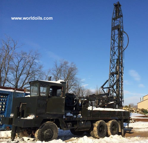 Sanderson-Cyclone Drill Co. Rig for Sale