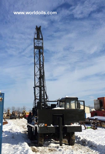 Sanderson-Cyclone Drill Co. 36-R Drill Rig & Package
