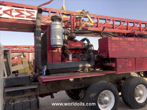 Schramm Rotadrill T64HB Drilling Rig - 1974 Built for Sale