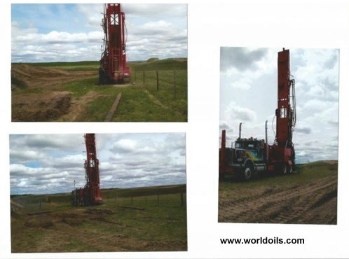 Schramm T64HB Drilling Rig 1978 Built for sale