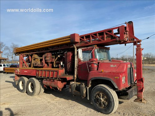 Schramm T64HB Drilling Rig - 1978 Built for Sale