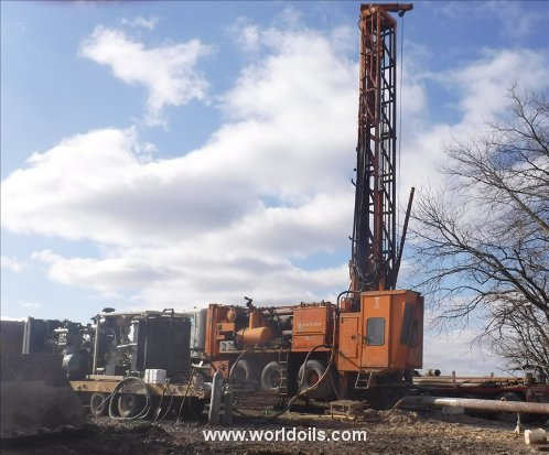 Schramm T660 Drill Rig & Sullair 1150/350 Package for Sale