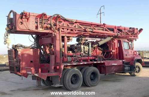 Schramm T660W Drilling Rig - 1996 Built for Sale