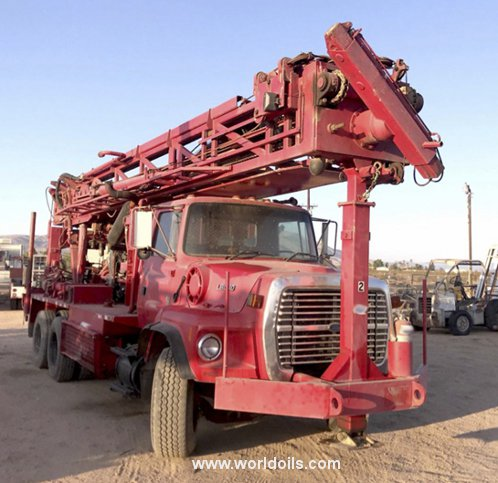 Schramm T660W Drilling Rig for Sale