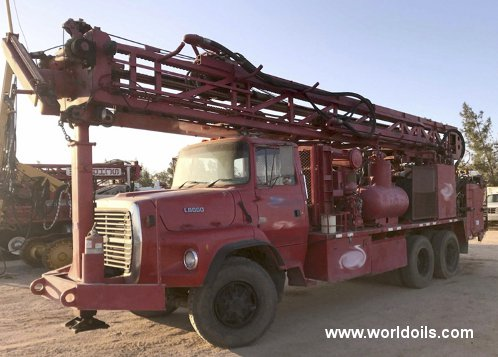 Schramm T660W Used Drilling Rig for Sale