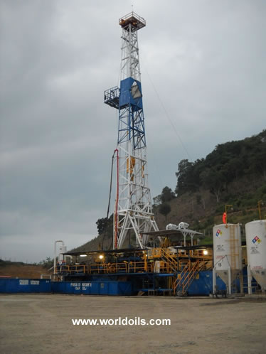 1000 HP Mechanical Drill Rig