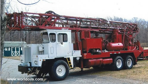 Used Drilling Rig Speedstar 30K