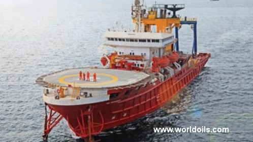 Supply Vessel - 96m - For Sale