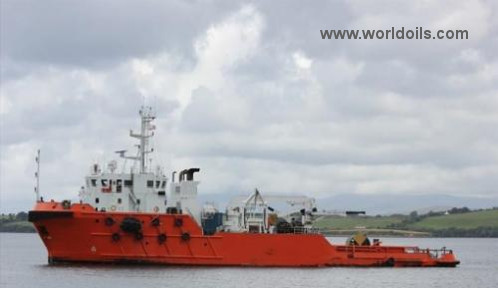 Support Vessel - 57m - For Sale