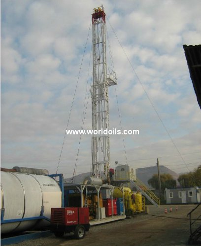 Telescopic Mast Double Drilling Rig