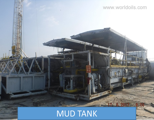 550HP Trailer Mounted Hydraulic Lift Drilling Rig