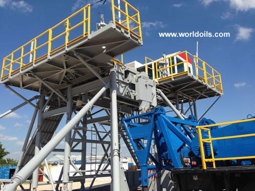Chinese RG 1300hp Mechanical Drilling Rig