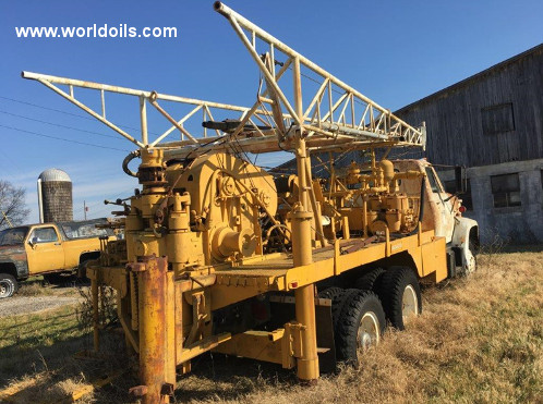 Used Drill Rig Failing 1500 Holemaster