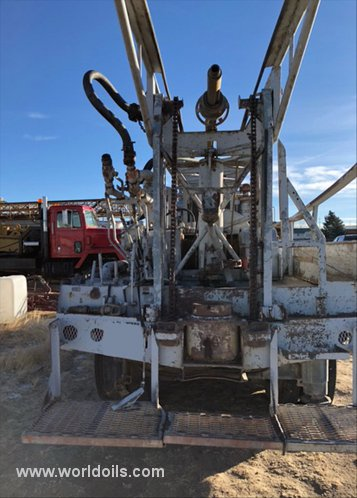 Failing Holemaster 1000 Used Drilling Rig for Sale