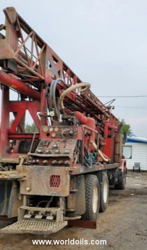 Used Ingersoll-Rand Cyclone TH60 Drilling Rig for Sale