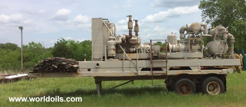 Ingersoll-Rand Land drilling Rig for Sale in USA