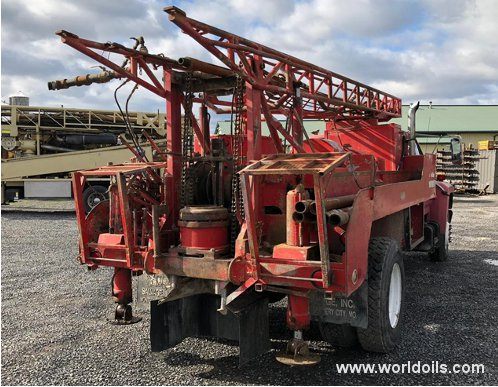 Used Mayhew 500 Drilling Rig for Sale