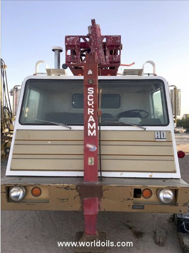 Used Schramm Rotadrill T64HB Drilling Rig