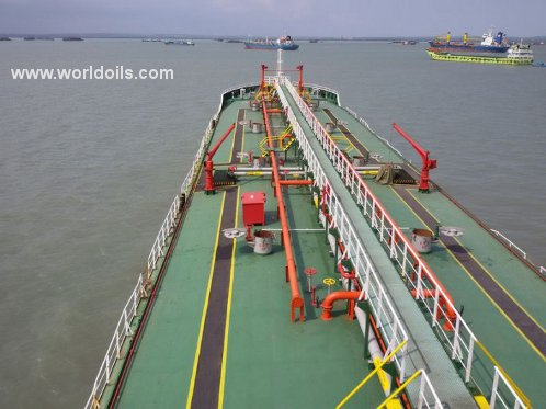 Used Self Propelled Oil Barge for Sale
