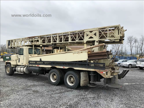 1986 Built Ingersoll-Rand TH60 Drill Rig