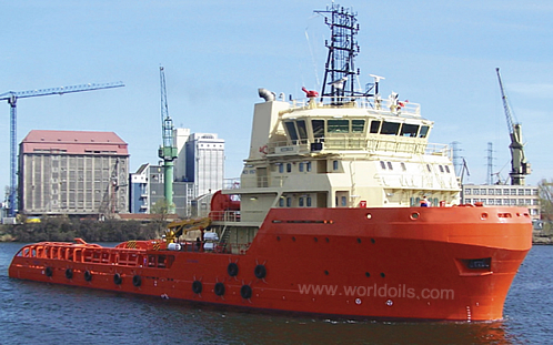 230FT Anchor Handling Tug Supply Vessel for sale