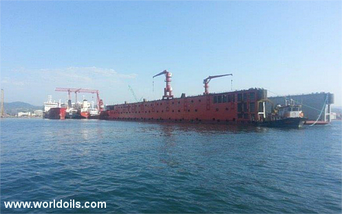 10.000ton Lifting Capacity New Floating Dock for sale
